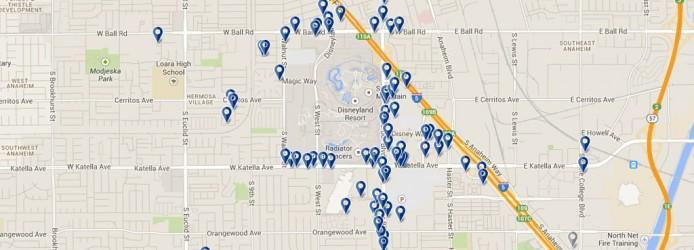 mapa lisboa hoteis Dicas, Hotéis e Roteiro na Disney da Califórnia   Para Viagem mapa lisboa hoteis