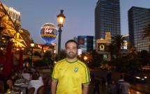 Entardecer na Strip em Las Vegas