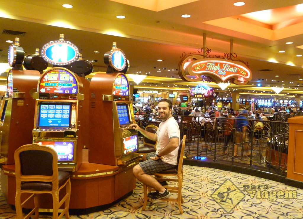 Jogando no Cassino em Las Vegas
