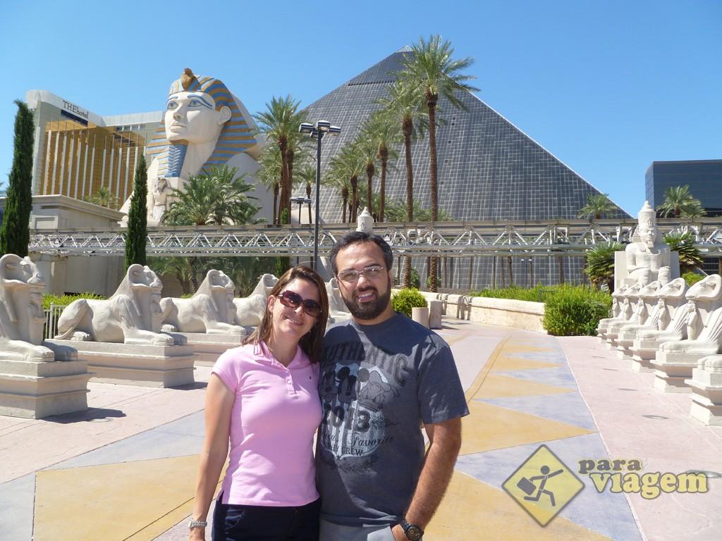 Frente do Hotel Luxor