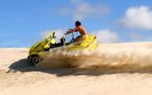 Manobras com emoção nas dunas
