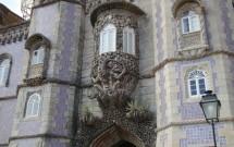Escultura exótica no Palácio da Pena