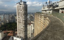 Edifício Itália visto do terraço da Copan