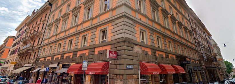 Augusta Lucilla Palace Hotel em Roma