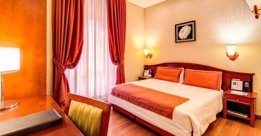 Quarto do Hotel Augusta Lucilla Palace