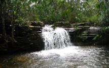 Cachoeira na Chapada dos Guimarães