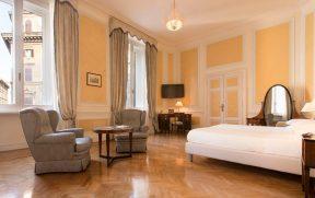 Quarto do Hotel Quirinale em Roma