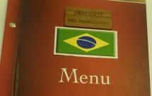Menu em português