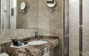 Banheiro do Grand Hotel Palatino