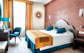 Quarto do Grand Hotel Palatino
