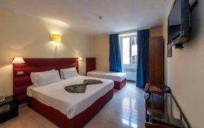 Quarto do Hotel California em Roma