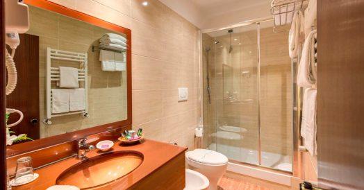 Banheiro do Hotel Impero