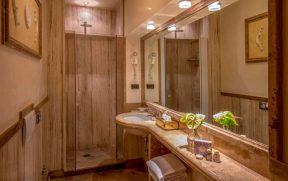 Banheiro do Hotel Albergo Ottocento