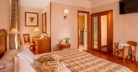 Quarto do Hotel Albergo Ottocento