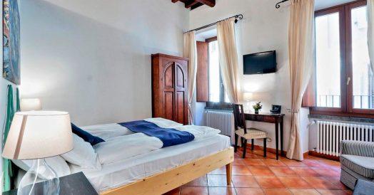 Quarto do Palazzo Olivia Apartments