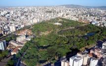 Vista aérea do Parque Farroupilha