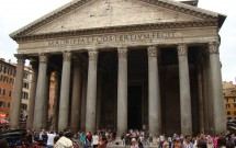 Fachada do Pantheon