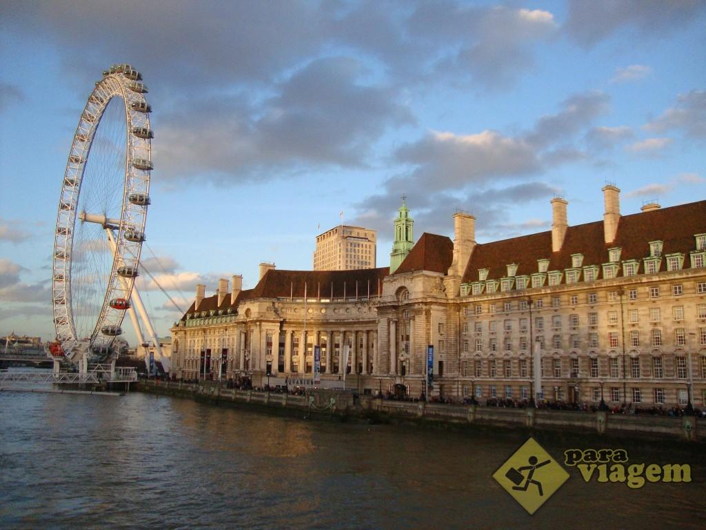 London Eye e o County Hall