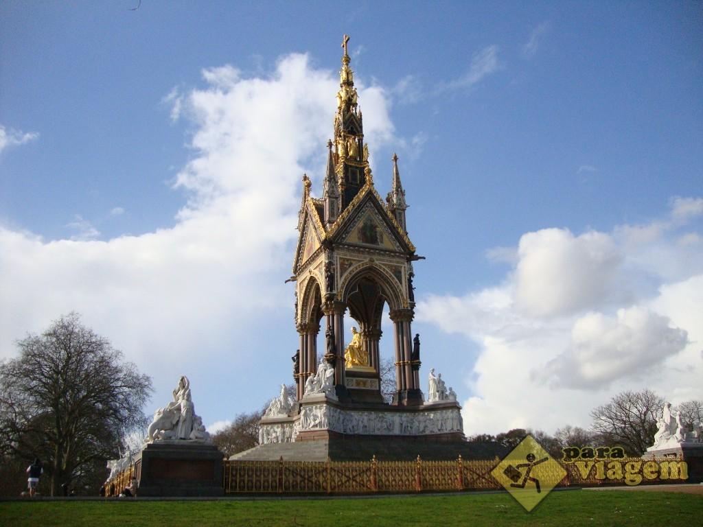 Albert Memorial - Kensington Gardens