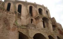 Domus Tiberiana - Visto do Forum
