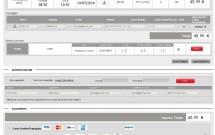 Preenchendo os dados pessoais - Trenitalia
