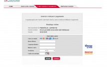 Dados do cartão do crédito - Trenitalia