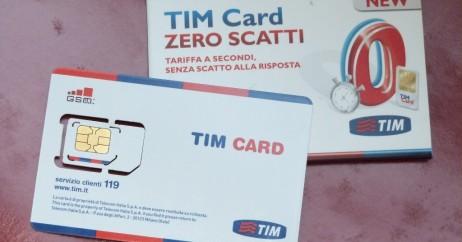 Chip da Tim Italia