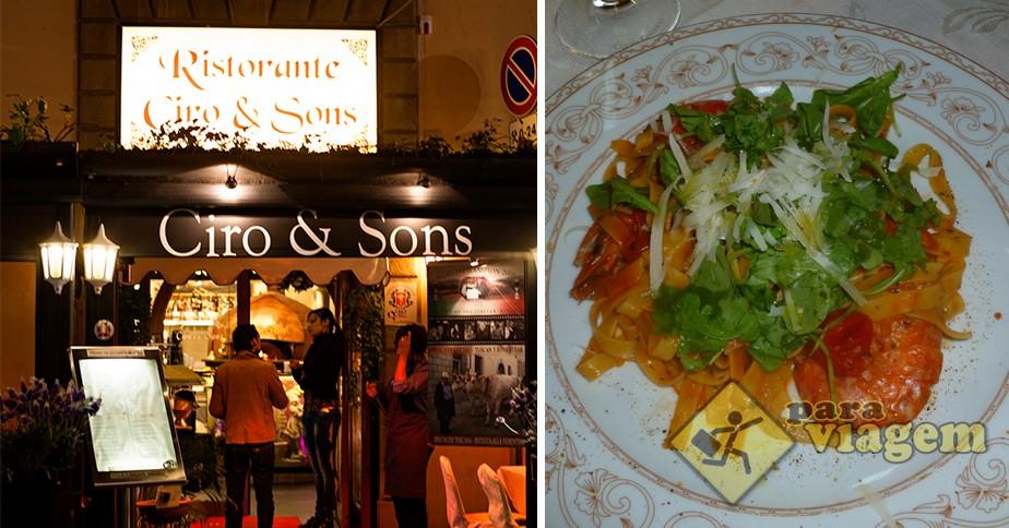 Restaurante Ciro & Sons