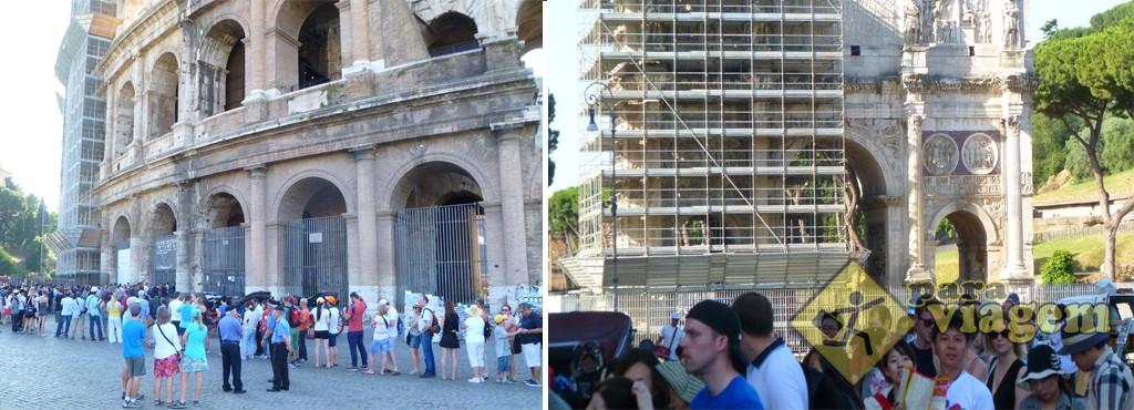 Fila no Coliseu