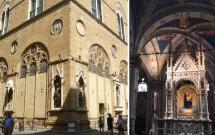 Igreja de Orsanmichele. Detalhe do interior