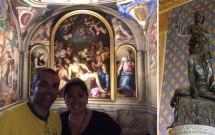 Capela de Eleonora com afrescos de Bronzino. 'Judite e Holofernes', de Donatello na Sala dos Lírios.