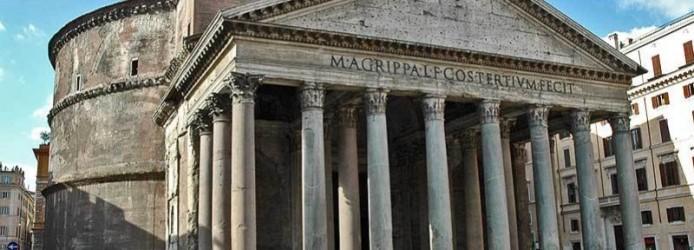 Pantheon de Roma na Itália