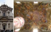 Igreja de Sant'Ignazio di Loyola & o fantástico afresco 3D de Andrea Pozzo