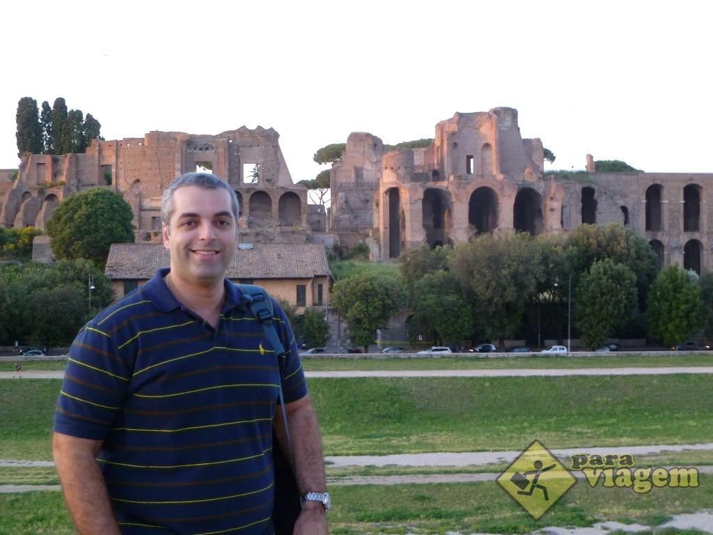 Ruínas do Circo Massimo e do Palatino