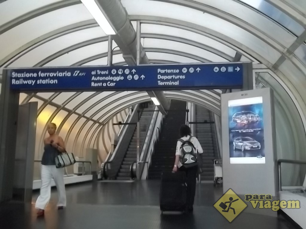 Aeroporto Fiumicino em Roma