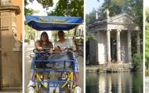 Villa Borghese & o passeio de quadriciclo