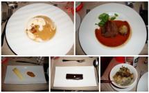 O menu completo do Bateaux Parisiens