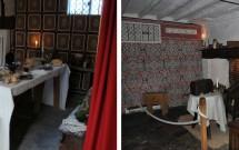 Interior da casa em que nasceu Shakespeare