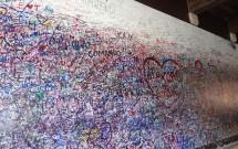 Mensagens de amor na parede