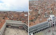 Vista da Praça de San Marco do alto do Campanário