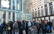 Loja da Apple na Black Friday em Nova York