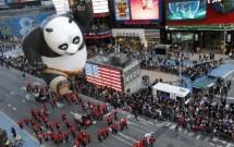 Parada da Macy's no Thanksgiving em Nova York