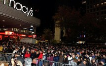 Macy´s na Black Friday em Nova York