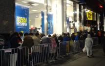 Loja da Best Buy na 5ª Avenida - Black Friday em Nova York