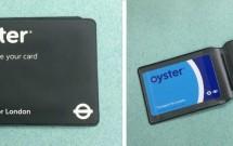 O Oyster Card vem com uma capinha protetora