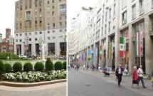 Piazza San Babila e Corso Vittorio Emanuelle