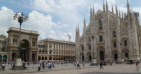 Piazza del Duomo em Milão