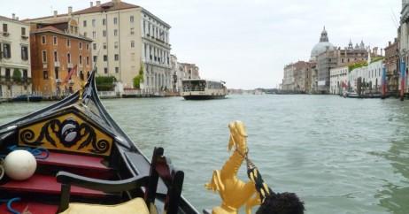 Gôndola no Grande Canal