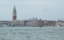 Laguna de Veneza vista do Lido