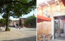 Birraria no Campo de San Polo em Veneza